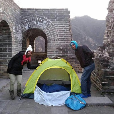 sleep and hiking on the great wall beijing, Great Wall Camping