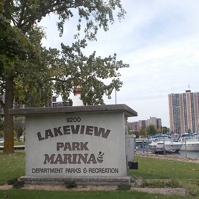 Lakeview Park and Marina, 9200 Riverside Dr, Windsor, Ontario.