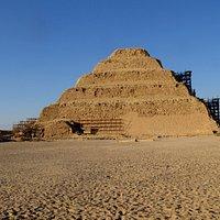 La pyramide à degrés