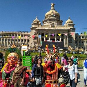 Vidhansoudha, Bangalore heritage walk