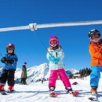 Oeschinensee ski
