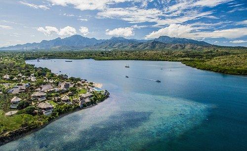 View of Menjangan Dynasty Resort and Pasit Putih Beach Club