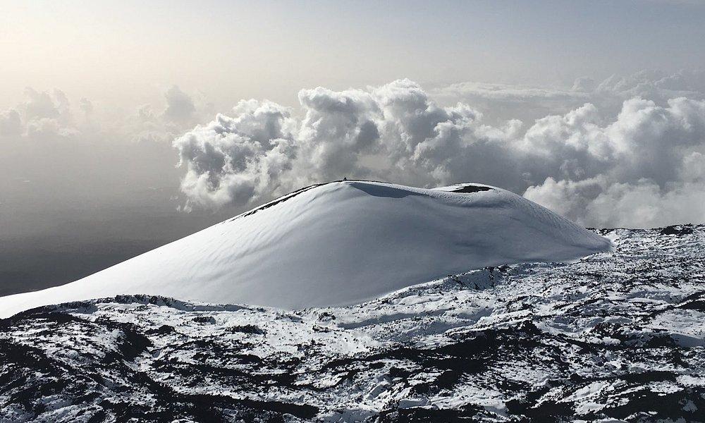 vu du cratère en haut