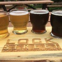 sampler in their beergarden