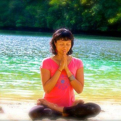 Edee Albert, Founder of Omkar Yoga Palau