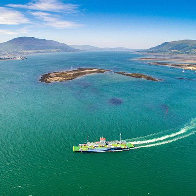 What a view! Beautiful summers day on board the Fraser Aisling Gabrielle crossing Carlingford Lo