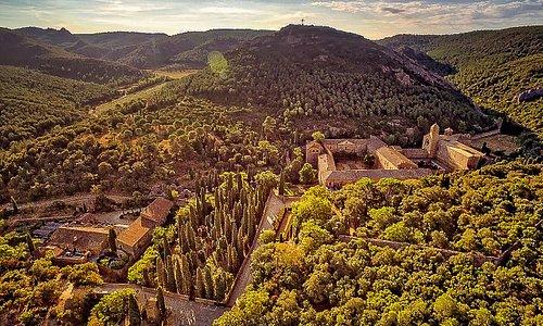 Le site de l'Abbaye de Fontfroide
