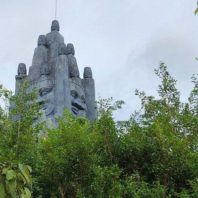 Фото стройки нового храма.