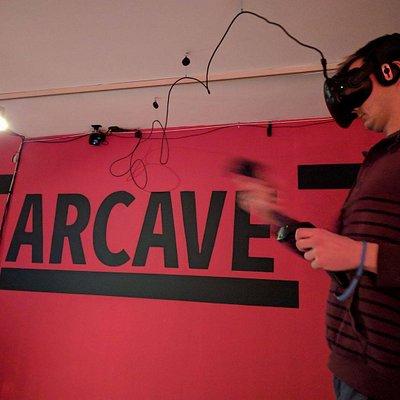 VR gaming at Arcave!