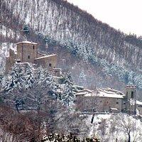 Castel San Niccolo'  -  winter view