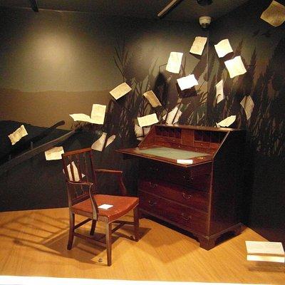 Robert Burns Desk