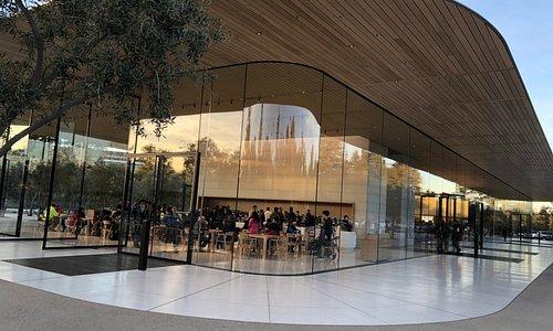 Apple Visitor Center building