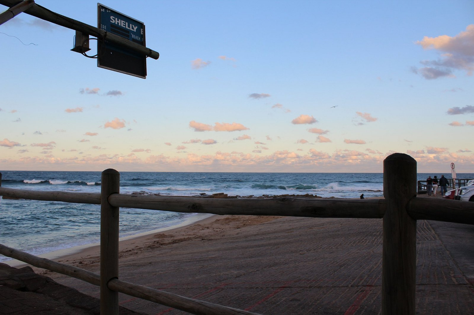 Ski-boat launch site at Shelly Beach