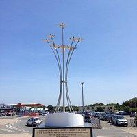 Beautifully presented memorial