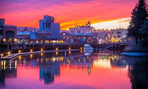 In beautiful, historic, downtown Petaluma, CA