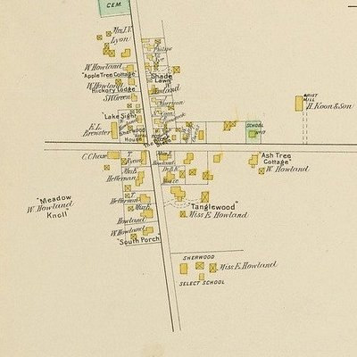 1904 map of Historic District