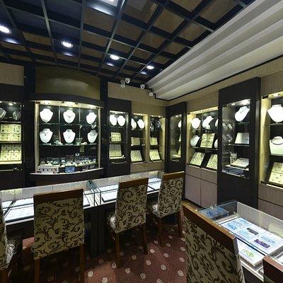 Zam Gems store at Cinnamon Grand Hotel, Colombo.