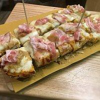 Bruschetta Gourmet (zucca, pancetta, porcini)