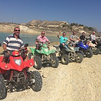 Quad biking   The boys are back in town!