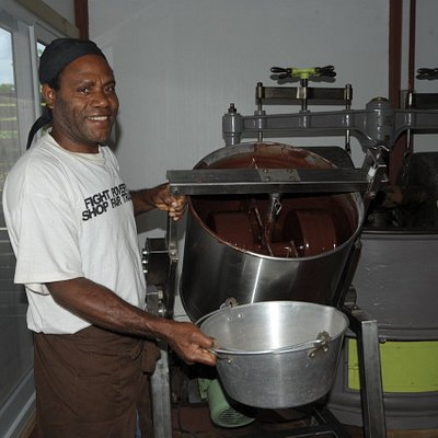 Donald our chocolate production manager