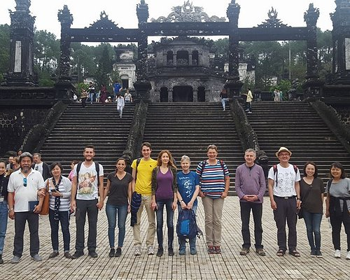 Hue City Deluxe Group Tours wtih Beautiful Guide