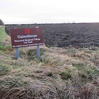 Gainsthorpe medieval village
