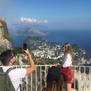 Il panorama dal Monte Solaro