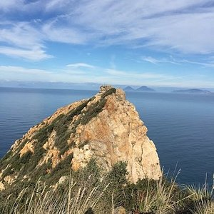 Auf der Höhe des Capo Calava