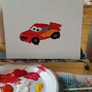 Kids' Class paintings