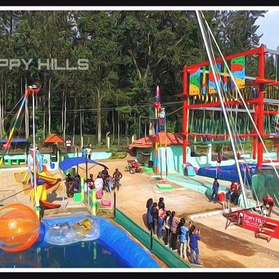 Drone view of POPPY HILLS ADVENTURE YERCAUD