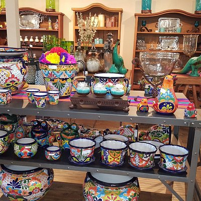 Talavera pottery, forged Iron works, hand-blown glass and much much more!