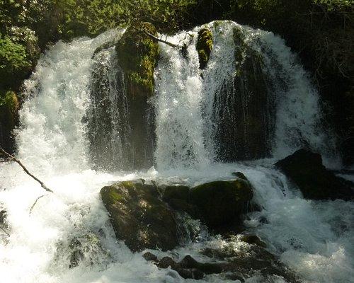 Adou del Bastareny. El salto de agua