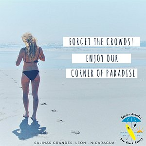 Yes! Forget the crowds! and enjoy our corner of paradise!