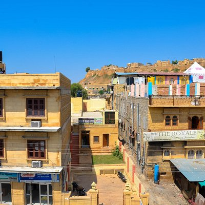Jaisalmer from hotel view