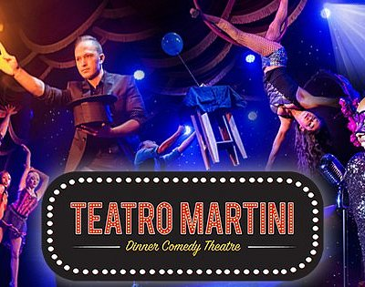 Don't miss Teatro Martini- Orange County's hottest variety show!