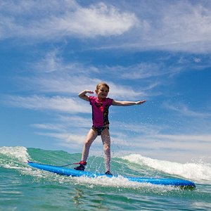 Surf Lessons for all ages! Enjoy warm water and gentle waves - perfect conditions to learn to su