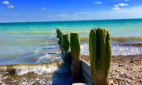 Beautiful Worthing beach 🏖