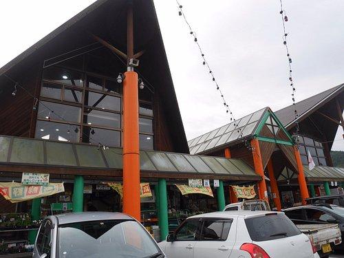 道の駅の建物