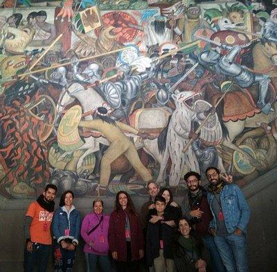 Murales para conocer la historia de Mexico