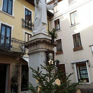 La statua della Beata Giovanna Maria Bonomo