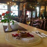 Schokoladenpanacotta mit Früchten, einfach himmlisch!