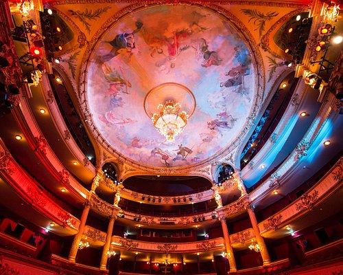 La salle de l'Opéra Royal de Wallonie-Liège !