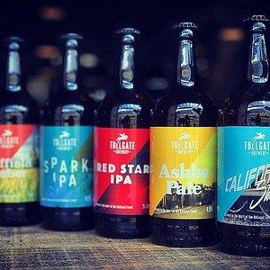 New bottle label design