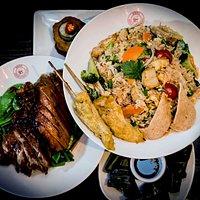 Kuala Lumpur Nasi Goreng & Isaan Style Crispy Roast Duck