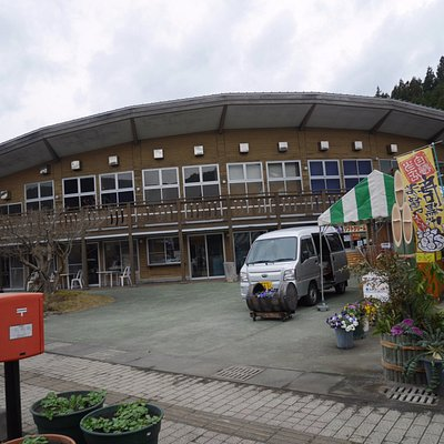 道の駅建物