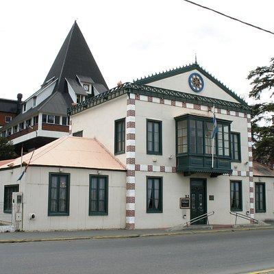 Fachada de la Sede Antigua Casa de Gobierno