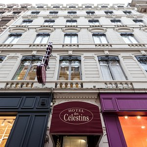 Entrance at the Hotel des Celestins