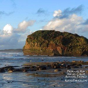 Piedra del Run, Playa Mar Brava, Ruta del Pacífico!