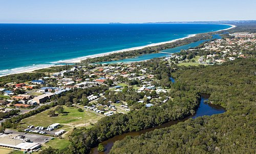 Tweed Coast Holiday Parks Pottsville North - Aerial
