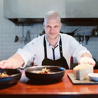 Put yourself in the chef's hands! Maxwell Restaurant michelin trained Head Chef Fabian Lehmann.